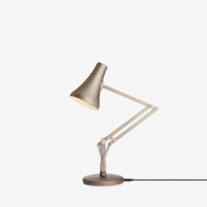 90 Mini Mini Desk Lamp, Warm Silver & Blush
