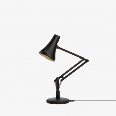 90 mini mini desk lamp, Carbon Black & Black