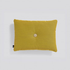 Dot cushion/st 1 golden yellow