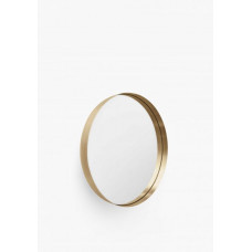 Darkly Mirror, Brushed Brass