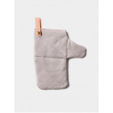 Canvas Oven Mitt - Grey