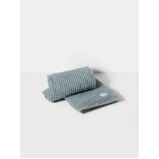 полотенце Organic Bath Towel - Dusty Blue