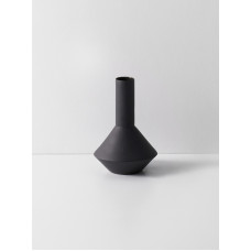 Sculpt Vase Pod - Dark Grey