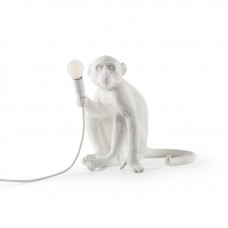 The Monkey Lamp Sitting Version