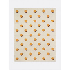 покрывало DOUBLE DOT BLANKET - OFF WHITE