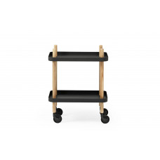 Block Table dark black