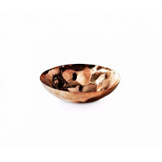 Hex bowl medium copper