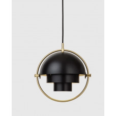 подвесной светильник MULTI-LITE PENDANT - SMALL, BRASS BASE, BLACK
