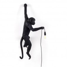 The Monkey Lamp Black Hanging Version