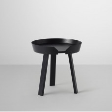 around coffee table small - black