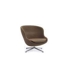 Кресло Hyg Lounge Chair Low Swivel Alu NORMANN COPENHAGEN
