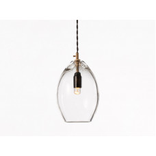 unika pendant – clear glass - LARGE