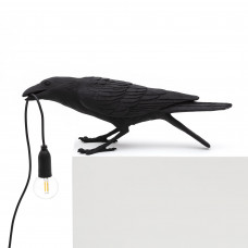 Bird Lamp Black Playing